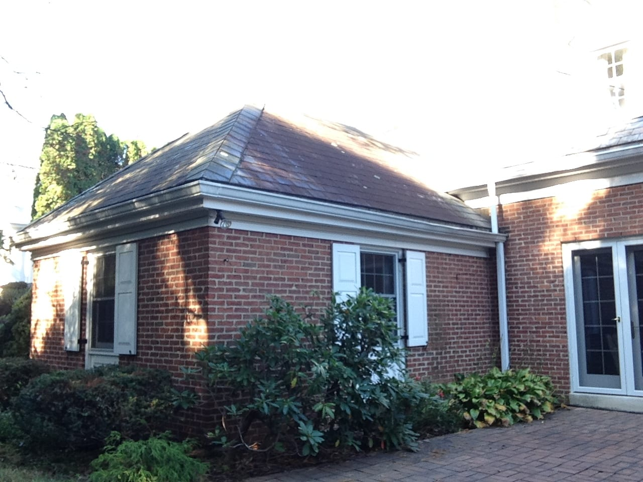 Slate Roof Cleaning And Moss Removal Liberty Soft Wash
