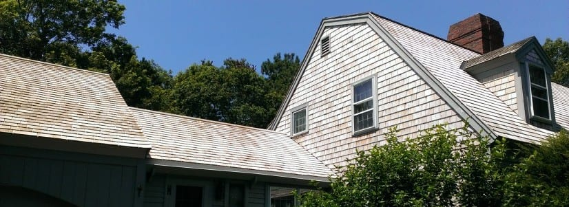 Cedar roof cleaning in PA