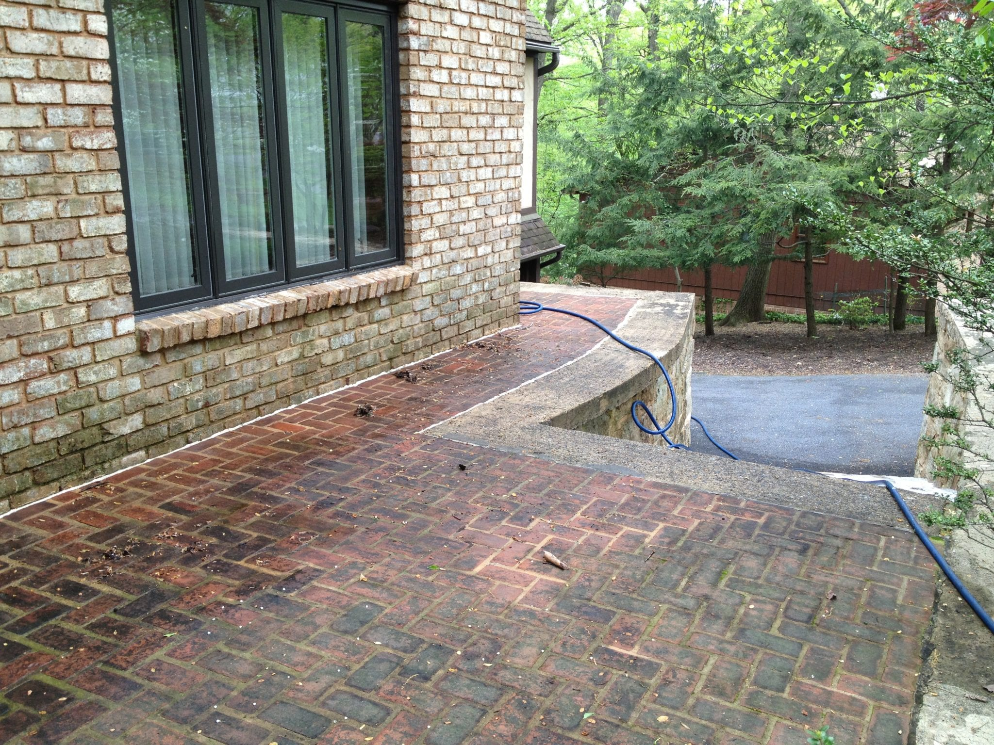 Pressure washing exterior cleaning services lebanon pa - How to clean brick house exterior ...