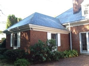 Lancaster PA dirty slate roof cleaning