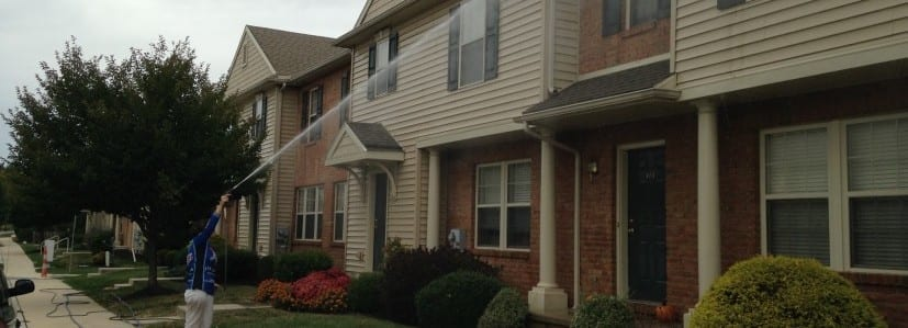 Apartment Complex Pressure Washing in York PA and Surrounding